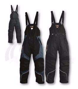 Mens Snowmobile Bib Snowpants Katahdin Gear X2-X BLACK or BLACK and GRAY Sm-4XL