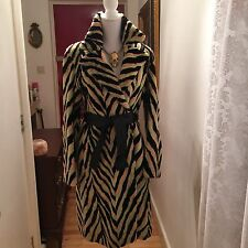 Versace Long Fur Coat Stylish Designer