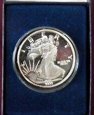 Walking Liberty Dawn of A New  Millennium  2000  1 troy ounce Silver