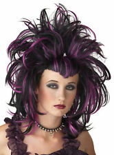 Women's Witch Evil Sorceress Widows Peak Puffy Style Wig Seasonal Visions