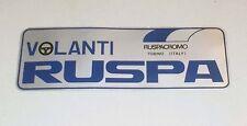 Adesivo VOLANTI RUSPA Ruspacromo Torino sticker Promo Pubblicità anni 80 Metal