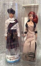 2017 GAW CONVENTION SCOTTISH HIGHLANDS KEN & BARBIE SILKSTONE SET SIGNED NRFB