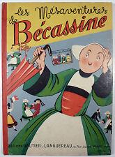 Bécassine Les mésaventures de ... Pinchon Ed.Gautier-Languereau 1946 TBE