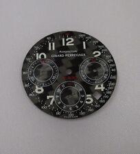 Black Carbon Fiber 29.5mm Girard-Perregaux FERRARI F300 Chronograph Watch Dial