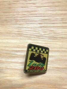 Indy 200 at Disney lapel pin 1997