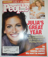 People Magazine Julia Roberts & Celine Dion March 2001 WITH ML 031215R