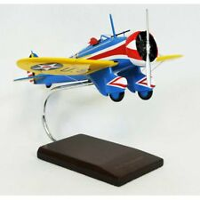 Daron Worldwide P-26A Peashooter Model Airplane, Blue