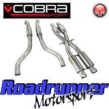 Cobra Sport M3 E92 De Escape De Gato sección & Frontal Tubos De Acero Inoxidable bm63