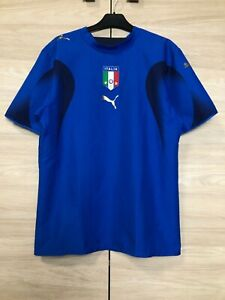 Italy Italia World Cup 2006 Blue Football Shirt Soccer Jersey Champions size S