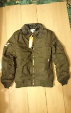 NEW MENS RRP£114.99 XXL SIZE 44 SUPERDRY RSD WINTER FLITE JACKET DEEP KHAKI BNWT