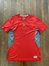 Men's Nike Pro Combat St. Louis Cardinals Fitted S.S. Shirt Size 3XL Red