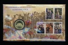 Australia PNC - 2008 REMEMBRANCE  - Stamp Coin FDC