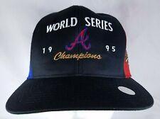Atlanta Braves Snapback Hat World Series 1995 Baseball Pinwheel MLB