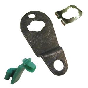 Strattec GM LH Driver Door Lock Pawl Metal Lever Cam Plastic Rod Retainer Clip