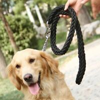Retriever Outdoor Heavy Duty Pet Braided Rope Lead Leash Large Dog Labrador #NE8