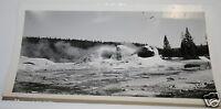 Vintage 1937 Original Black & White Photograph  Grotto Geyser Yellowstone Park