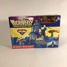 MicroVerse Superman Battle For Metropolis Micro Playset 1996 Hasbro Kenner Rare
