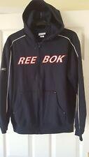 Mens Hooded Jacket - Reebok - Navy Blue Hoodie - Size S