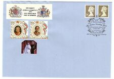 GREAT BRITAIN 1997 ROYAL GOLDEN WEDDING DEFINITIVES FIRST DAY COVER WESTMINSTER