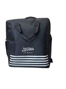 """NIP Jean Paul Gaultier Le Male Navy Blue """"sac"""" Weekend Bag"""