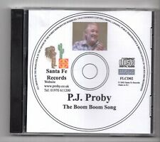 (IZ369) PJ Proby, The Boom Boom Song - 2002 DJ CD
