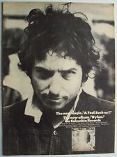 BOB DYLAN 1973 original POSTER ADVERTISEMENT FOOL SUCH AS