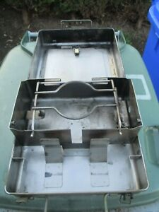 British Army Field Cooker Portable No12  Camping Petrol Gasoline Stove  case