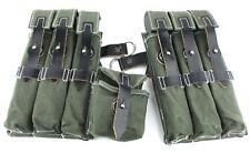 Wehrmacht Luftwaffe Polizei Paar Magazintaschen MP38 und MP40 dunkelgrün