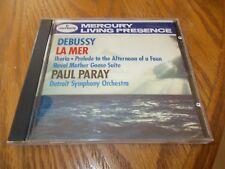 DEBUSSY -IBERIA -FAUNE -LA MER -RAVEL -PARAY CD