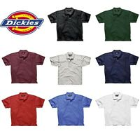 Dickies Short Sleeve Mens Polo Shirt - Workwear Small - 3XL SH21220 8 Colours!