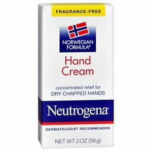 Neutrogena Hand Cream #130, Unscented, 2 oz (Pack of 24)