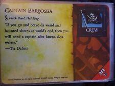 Wizkids Pirates of the Caribbean #062 Captain Barbossa Pocketmodel CSG