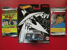 MAD HOT WHEELS '66 DODGE A100 SPY vs SPY W/2 MAD TRADING CARD PACKS (22 Cards)