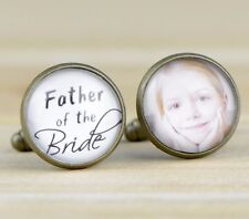 Personalized Wedding Cuff Links Father of the Bride  Groom Cufflinks Gift B059