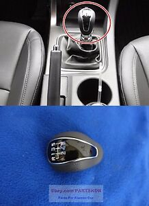 For 2013~2015 KIA OPTIMA K5 6SPEED MANUAL GLOSSY GEAR SHIFT KNOB Genuine Part