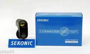Sekonic 478 VF 5 DEGREE VIEWFINDER (for 478D / 478DR meters)