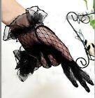 NEW 2015 Lace Elegant Ladies Bridal Short Gloves Wedding/Party White/Black/Red