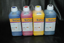 Eco Solvent ink for Roland, Mimaki, Mutoh (CMYK) 4 Liters. US Fast Shipping