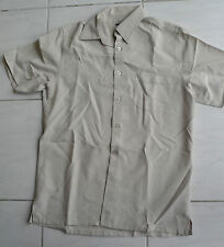 Chemise homme beige taille S