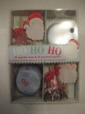 New In Box Meri go Round Ho Ho Ho Cupcake Decorating Kit Christmas