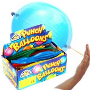 Punch Balloons - Perfect for Stocking fillers & Party Bags - Choose QTY 1 to 250