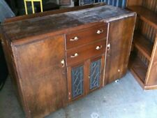 Wooden Art Deco Antique Cabinets & Cupboards