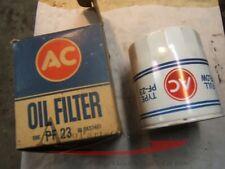 1967 Pontiac GTO Firebird nos oil filter #6437461