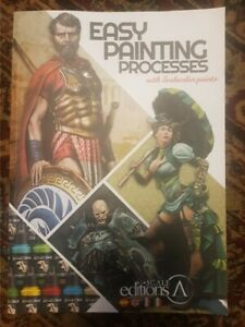 Scale 75 Easy Painting Processes Illustrated Paperback Book English Edition