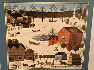 Charles Wysocki's Americana 1000 'Hunter's Horn Hollow' ~ Vintage 1999