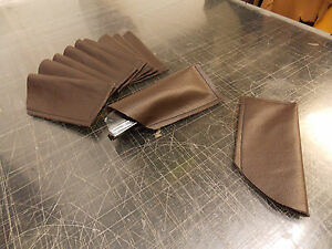 Real Brown Leather Glasses Case Sleeve Pouch for Reading Glasses free P&P