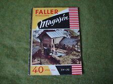 Faller ams   - Magazin Nr. 40