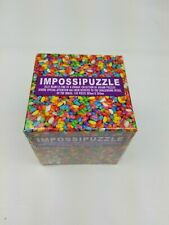 New Sealed Impossipuzzle Jelly Beans 100 Piece Jigsaw Puzzle   Challenging