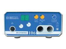 GIMA - DIATERMO 106 50 watt monopolare  elettrobisturi chirurgo CUT BLEND COAG