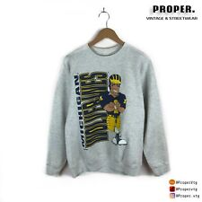 Vtg University Of Michigan Wolverines Football Sweatshirt Crewneck XL Collegiate